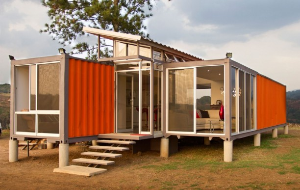 Shipping Container House Green Design Construction
